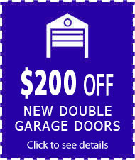 coupon $200 off on double doors